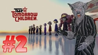 The Tomorrow Children Alpha Gameplay (PS4) Part 2 - Jetpacks And Puzzles