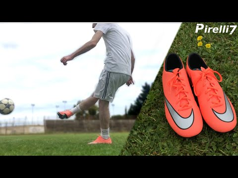 Review 80$ Nike Boots ITA: |Mercurial Victory V Bright Mango| 1080p 60fps - by Pirelli7