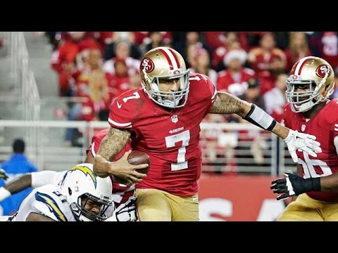 Colin Kaepernick long TD run