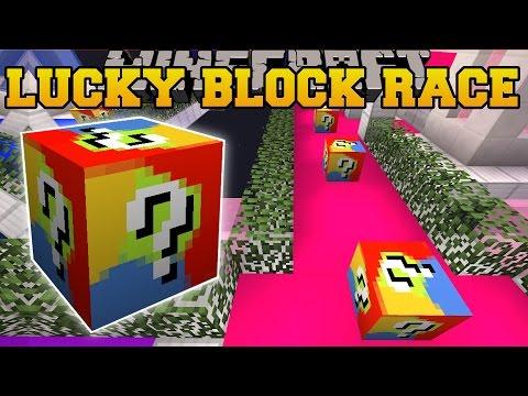 Minecraft: FUTURE WORLD LUCKY BLOCK RACE - Lucky Block Mod - Modded Mini-Game