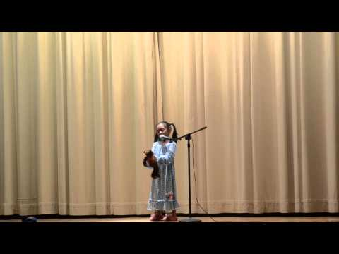 Joelle Ann Performs at the 2013 Santa Clara Elementary School Talent Show