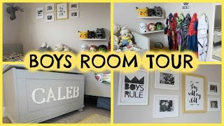 BOYS ROOM TOUR, STORAGE & FENG SHUI FOR KIDS ROOMS