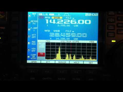 Ham radio reception - Italy to America