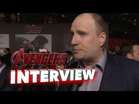 Marvel's Avengers: Age of Ultron: Producer Kevin Feige World Premier Interview