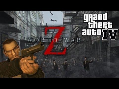 "☠ ""World War Z in Liberty City"" ➜ GTA IV PC mods!"