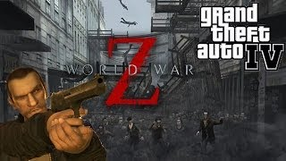"☠ ""World War Z in Liberty City"" ➜ GTA IV PC mods!"