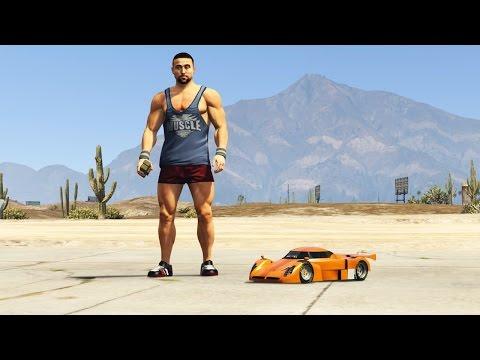 EXTREME RC CAR MOD! (GTA 5 Mods)