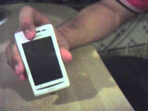 Video Review Sony Ericsson Xperia X8