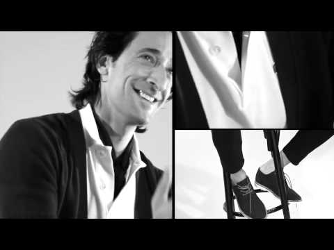 Unconventional Chic Lacoste. Adrien Brody Making Of..