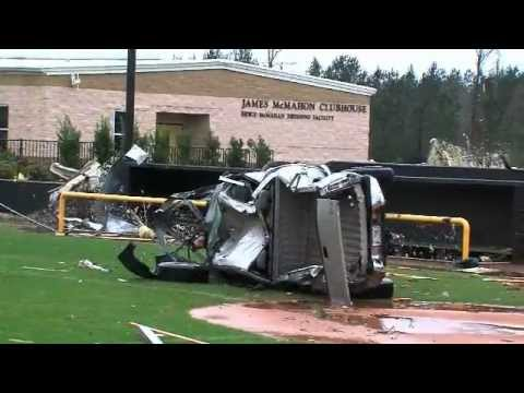 Oak Grove High School Hattiesburg MS Tornado Aftermath