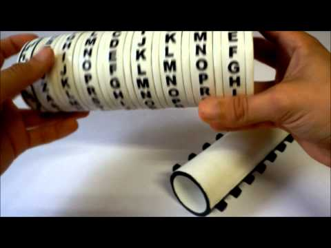 how to make a wooden cryptex