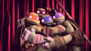 AMV Leo Raph - Halfway there (with lyrics) TMNT 2015