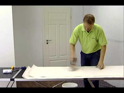 erfurt rauhfaser tapete youtube. Black Bedroom Furniture Sets. Home Design Ideas