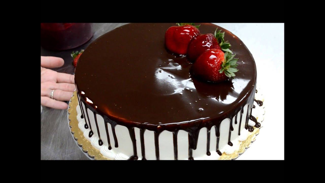 How To Make A Chocolate Birthday Cake Easy