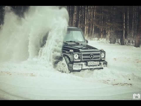 Mercedes-Benz G klasse AMG Off-road.