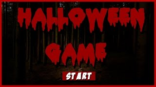 HALLOWEEN GAME | Slender wants to kill me