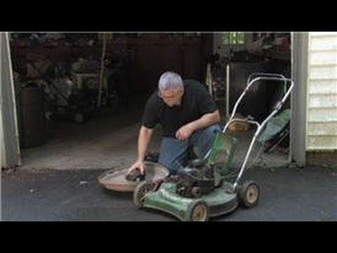 Lawn Mower Repair : How Do I Remove Rust From a Lawnmower Gas Tank?