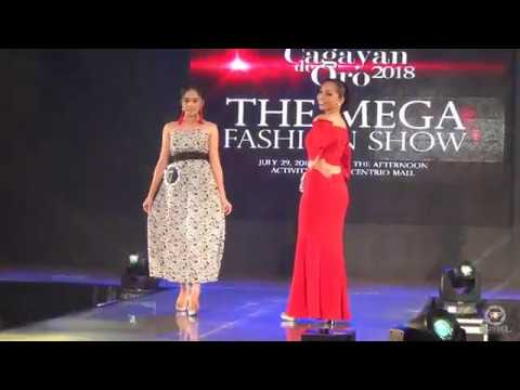 The Fashion Designers' Creations (The Mega Fashion Show) - Miss Cagayan de Oro 2018