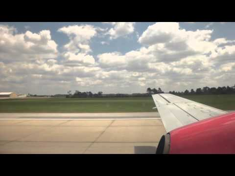 Silver Airways Economy Class (SAAB 340) Orlando MCO- Ft Lauderdale video report (Apr 2014)