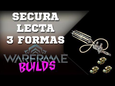 Warframe (pt-BR) | Secura Lecta (3 Formas) - Cada chicotada um crédito!