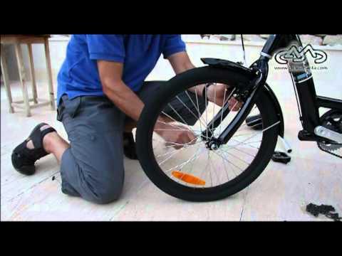 Como montar una bici de tres ruedas o triciclo.