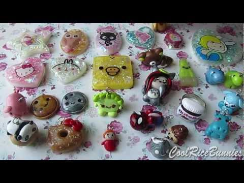 Polymer Clay Charm/Resin Update #12