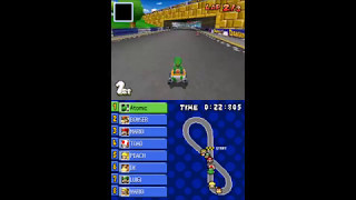 Mario Kart DS Infinite Speed TAS
