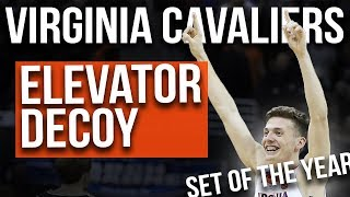 NCAA Tourney Breakdown | Set of the YEAR! Virginia Elevator Decoy | 2019 NCAA Tournament Best Sets