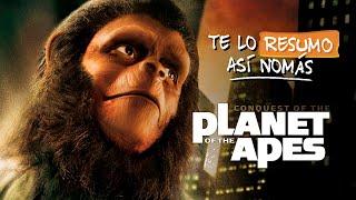 La Saga de El Planeta de los Simios   #TeLoResumoAsiNomas 207