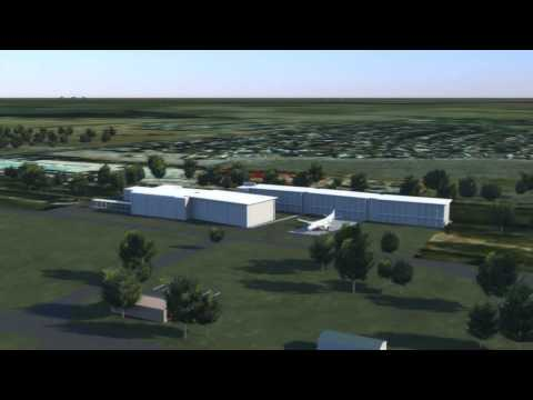 Wagga Wagga Airport 3D Animation -- Existing & Future Facilities