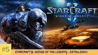 STARCRAFT 2 GAMEPLAY ESPAÑOL WINGS OF THE LIBERTY| ep 5 | ESTALLIDO ¡¡¡🦁🆚🐜
