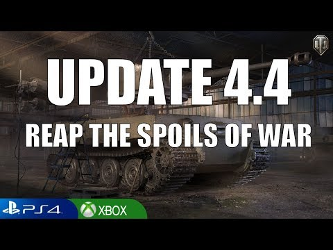 UPDATE 4.4 Reap the Spoils of War - World of Tanks Console