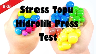 En İyi 5 Hidrolik Press Testi ( İphone 7, Elmas, Stres Topu...)