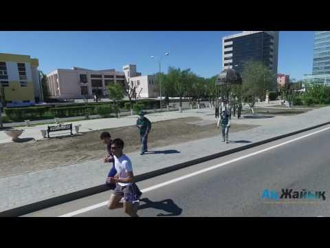 Первый марафон в Атырау