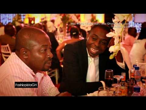 Miss World Charity Ball   Miss Ghana 2012 Launch