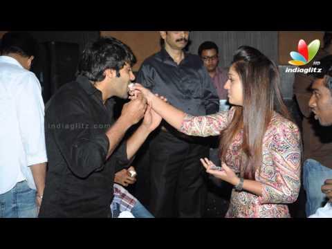 Arya. Simbu and Nayanthara celebrates Raja Rani Success Party   Atlee. Jai. AR Murugadoss