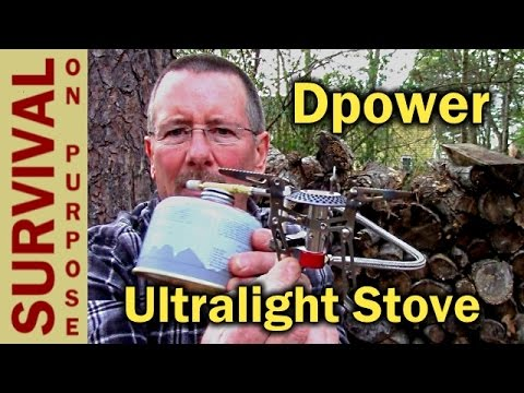 Dpower Ultralight Folding Backpacking Stove Review - Survival Gear