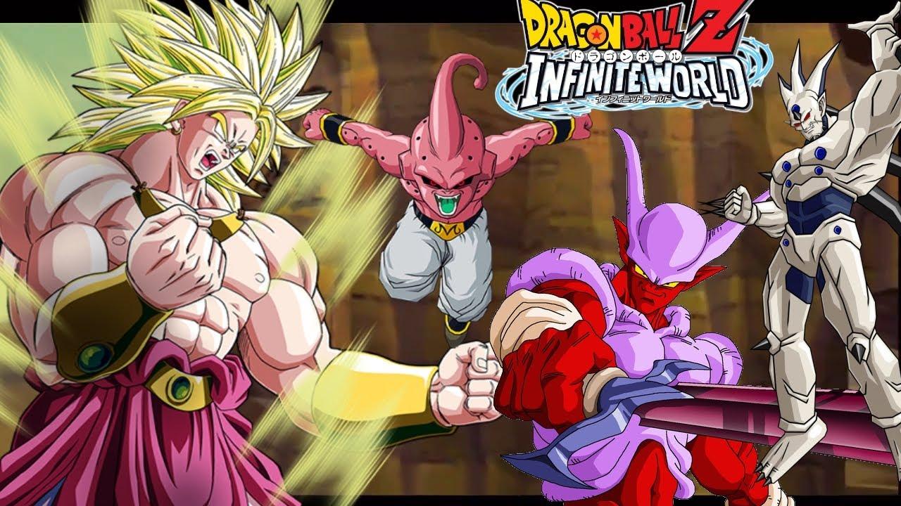 Omega Shenron Vs Kid Buu Dragon Ball Z Infinite...