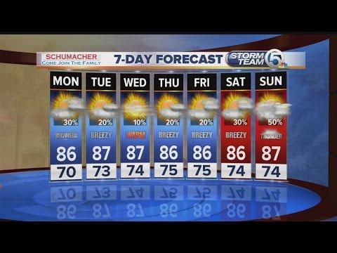 South Florida Monday morning forecast (5/23/16)