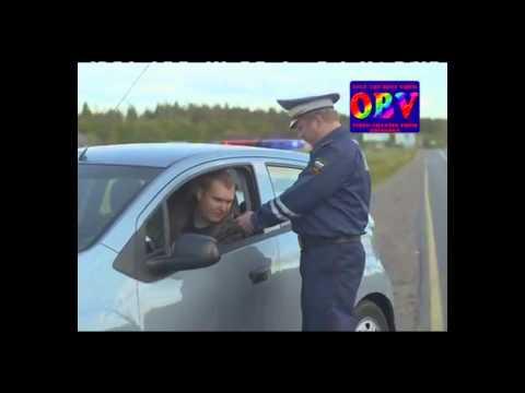 ГАИ.Как инспекторам убедиться в исправности алкотестера...! (юмор)