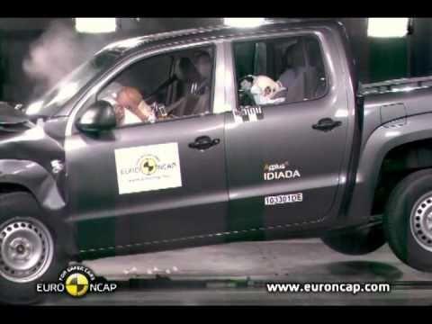 2011 Volkswagen Amarok - CRASH TEST - YouTube