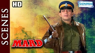 Mithun Chakraborty [HD] Mard [1998] Action Scene Compilation - Bollywood Movie - Best Action