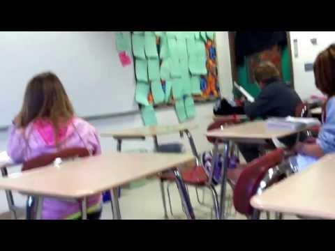 Normal day of silence before a field trip killingly intermediate school mrs. Jahoda classroom!