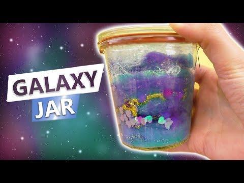 DIY Galaxy Jar | Super schöne Deko & Geschenk Idee selber machen | DIY Idee für Kids