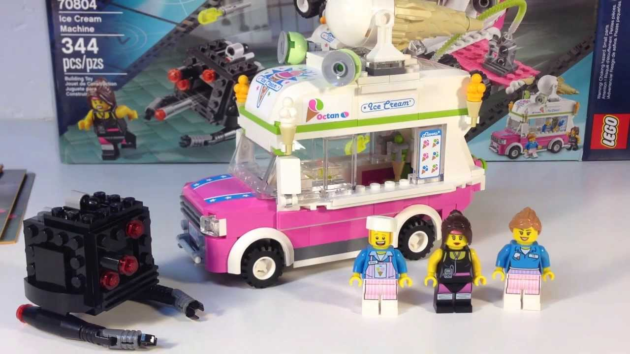 LEGO MOVIE Set 70804 Ice Cream Machine - Ice Cream Truck alt model ...