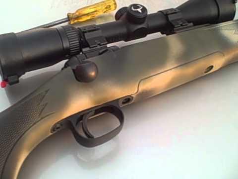 Black Gun Stock Paint