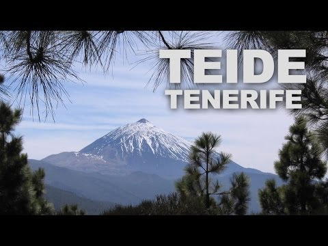 Mount Teide in Tenerife, the Third Highest Volcano in the World