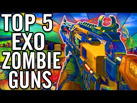 """Top 5"" ""Zombie Weapons""/""Zombie Guns"" REVISTED in ""CoD Advanced Warfa..."