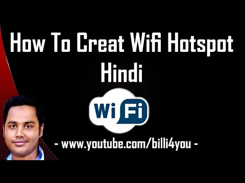 How To Create WiFi Hotspot In Windows 8. 7 - Virtual Router.  Hindi/Urdu