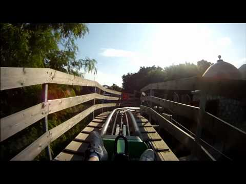 Dragon's Tail Alpine Coaster Roller Coaster POV Labadee Haiti Royal Caribbean Private Island labadie